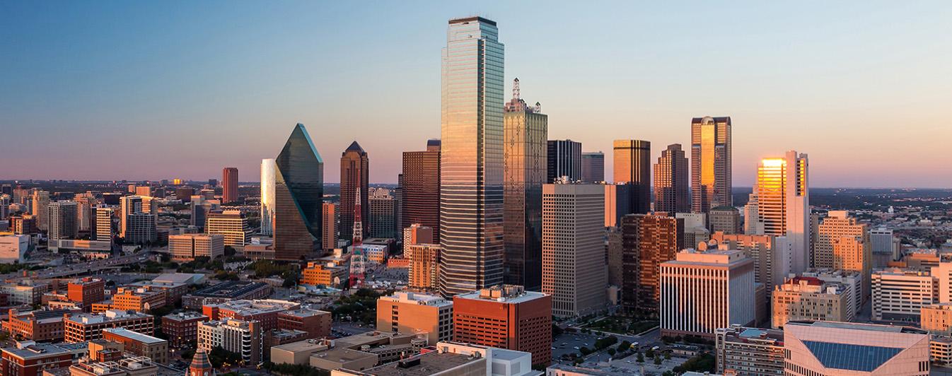 Texas Title Company Dallas Skyline