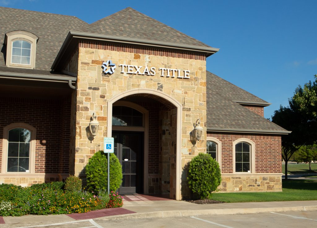 exterior of texas title southlake office